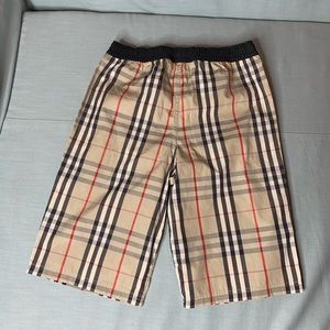 4171f7fbedcdd Burberry Swim - Burberry Boys Size 12y drawcord swim shorts